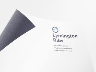 Lymington Ribs Branding